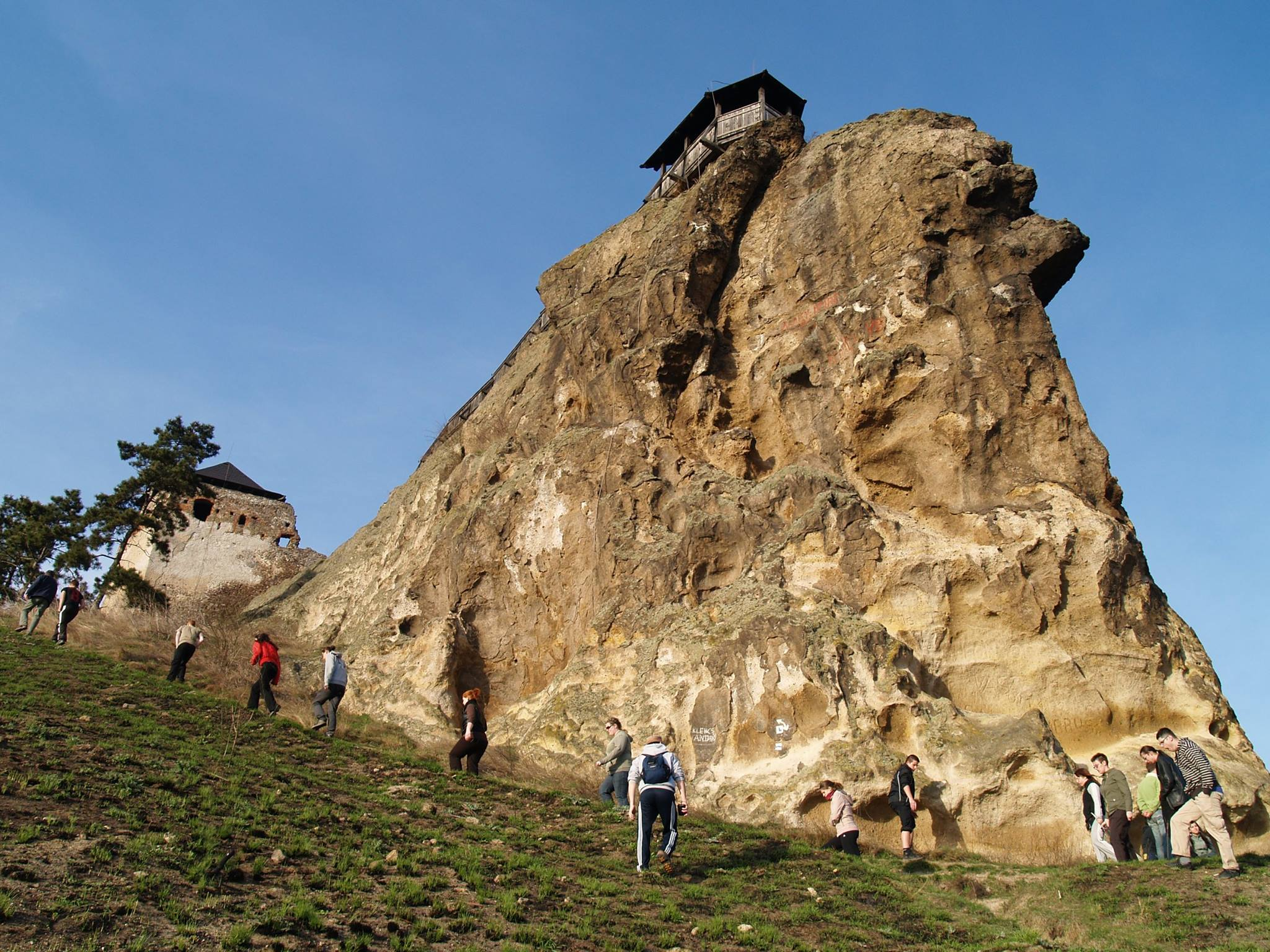 Boldogkőváralja, Szfinx
