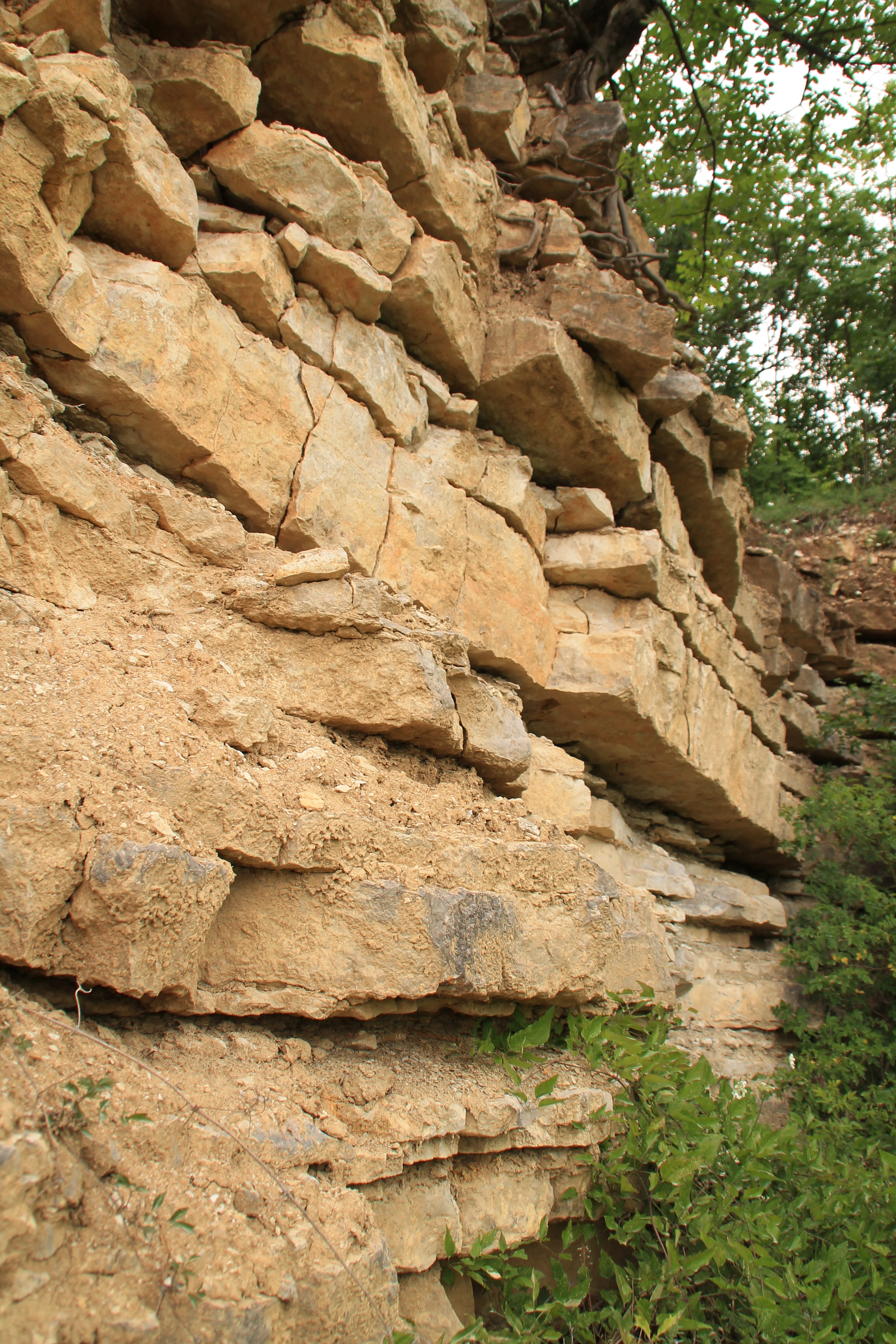 Miért rétegzettek az üledékes kőzetek?
