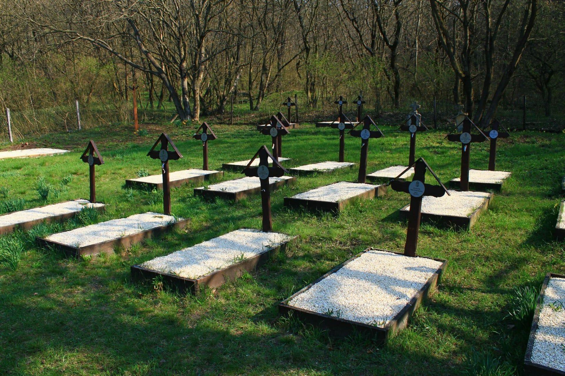 Kápolnapuszta, régi temető
