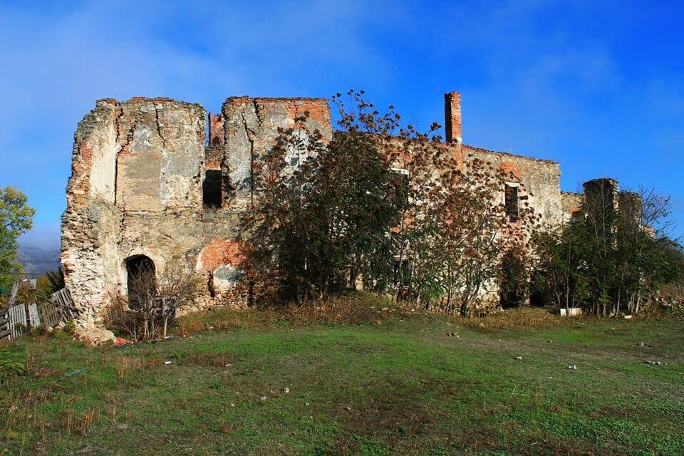 Alvinc, Martinuzzi-kastély