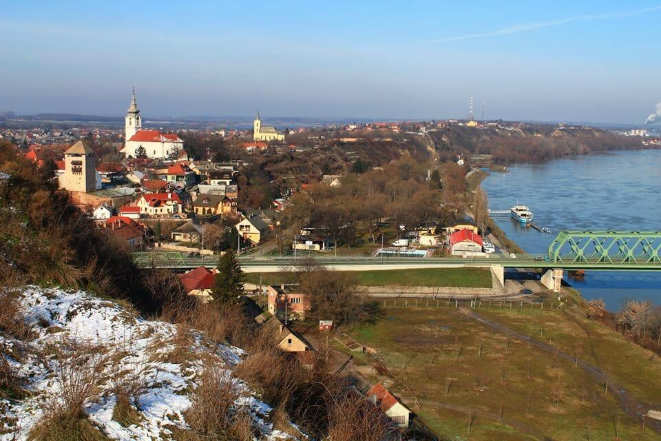 Dunaföldvár, lösz magaspart