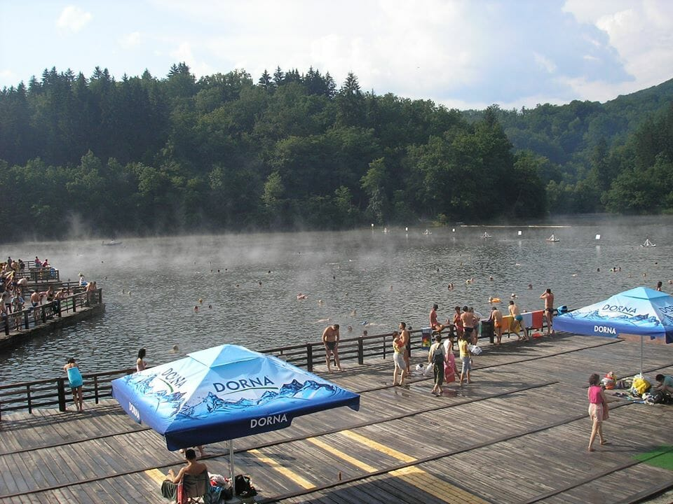 Szováta, Medve-tó