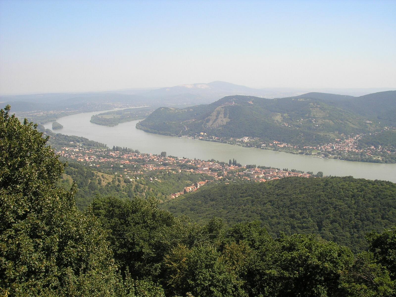 A Duna és a kanyar esete a Dunakanyarban