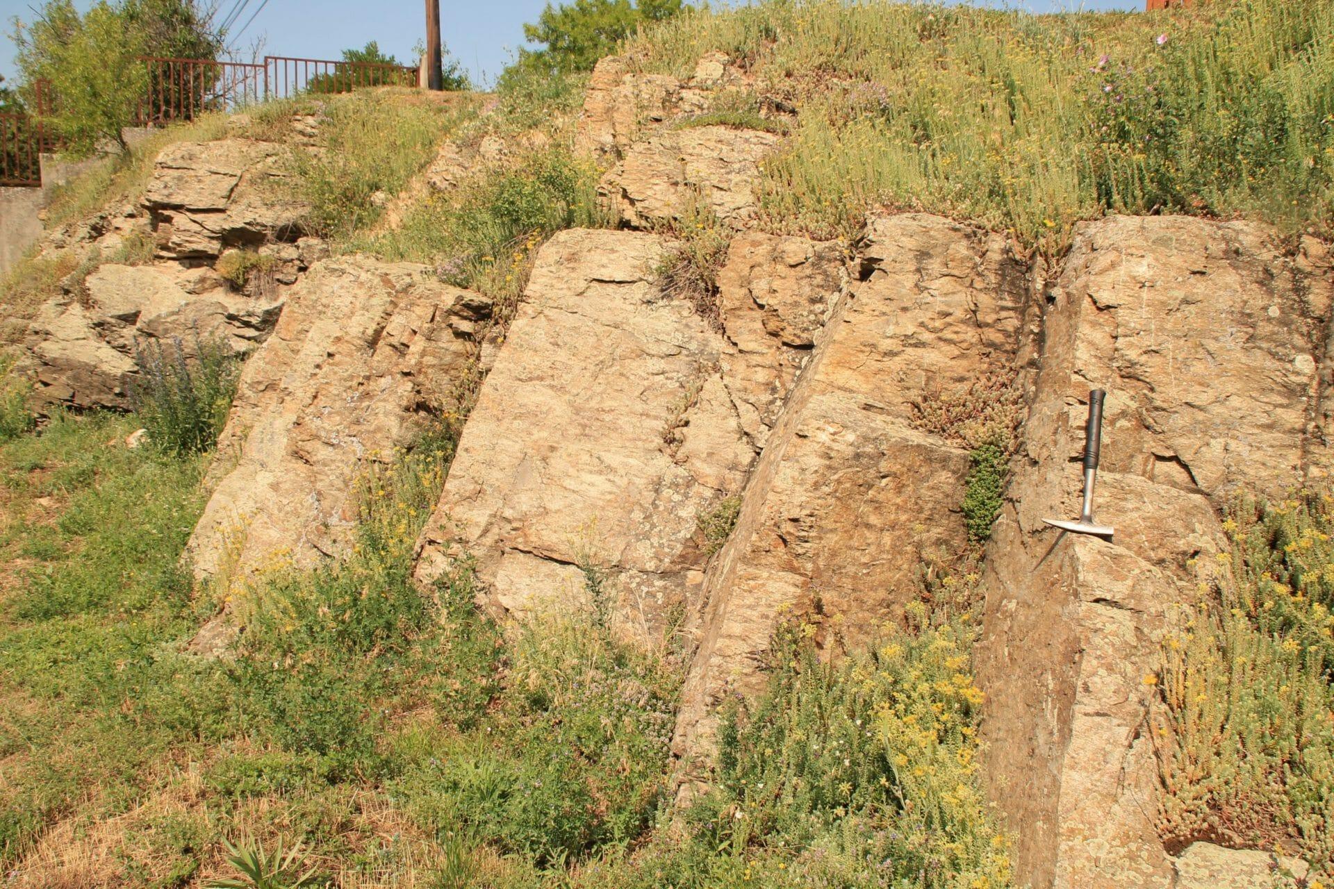 Ősi vulkáni kőzetek nyomában Alsóörsön