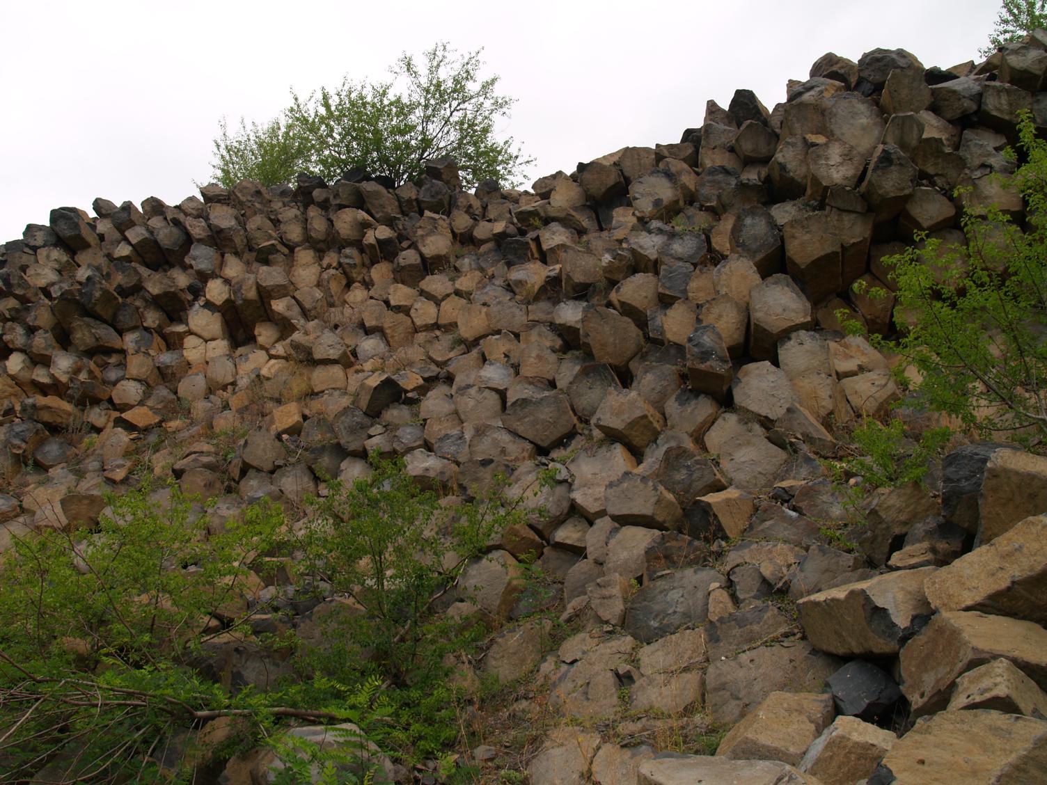 A Haláp bazaltoszlopai